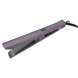 110-240V Steam Hair Flat Iron Hair Straightener with LED Temperature Display pictures & photos