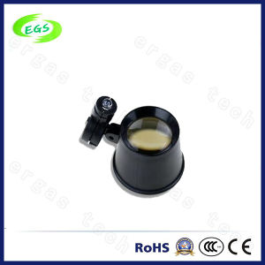 Promotional Magnifier Glass with 6X 10X, 15 LED Egs-13b pictures & photos