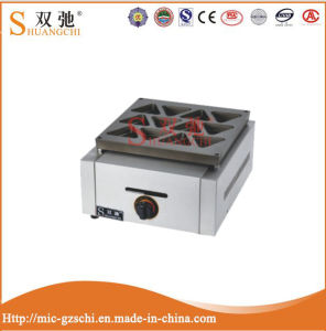2016 High Quality Commercial Gas Triangle Cake Maker Sc-Sr9 pictures & photos