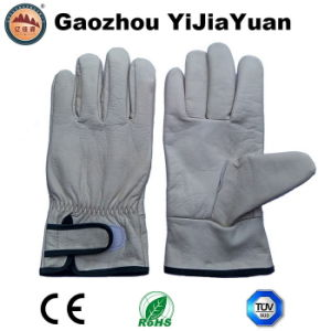 Ab Grade Cowhid Leather Protective Industrial Welding Brazing Gloves pictures & photos