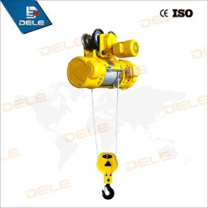 2ton Wire Rope Electric Hoist with Gear Trolley pictures & photos