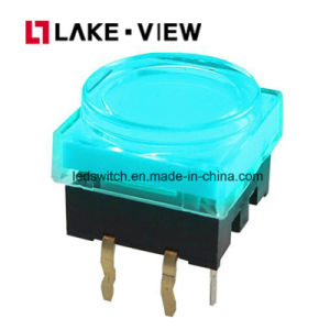 LED Illuminated Tact Switch with Multiple LED Color Options pictures & photos