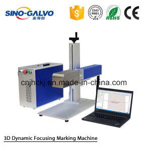Deep Engraving Laser Marking Machine Sg2206-3D for Marking on Metal pictures & photos