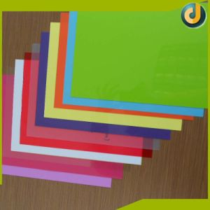 Hotsale Colorful PVC Sheet Binding Covers for Notebook pictures & photos