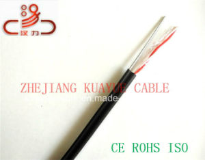 Drop Wire 1pair24AWG 1.2steelwire Messenger Telephone Cable/Computer Cable/ Data Cable/ Communication Cable/ Connector/ Audio Cable pictures & photos