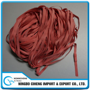 Best Price Elastic Tape Long Coloured Rubber Bands for Sale pictures & photos