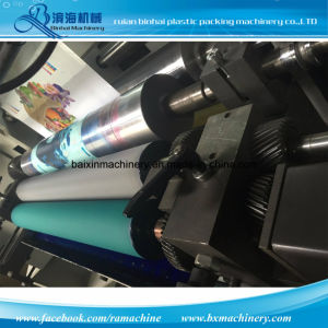 High Speed Quality 8 Colors Plastic Film Printing Machines pictures & photos