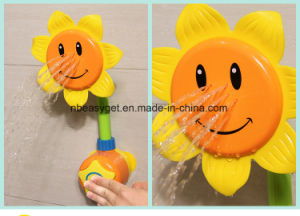 Sunflower Baby Bath Toys Water Shower Spray Bathing Tub Fountain Toys for Kid Gifts pictures & photos