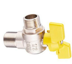 The Selling Brass Male Gas Valve (EM-V-72) pictures & photos