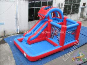 Kids Playground Outdoor Commercial Inflatable Water Slides pictures & photos