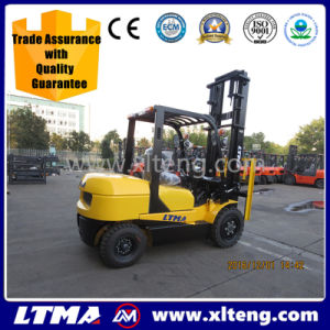 Ltma 3 Ton Diesel Lifter with Forklift Fork pictures & photos