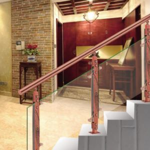 High Quality Chinese Wind Stainless Steel Aluminum Carved Stair Fittings Column pictures & photos