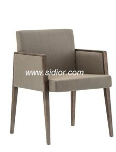 (SD-1008) Wholesale Modern Furniture Wooden Fabric Dining Chair for Restaurant pictures & photos