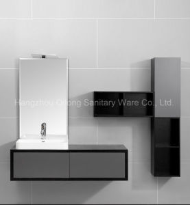 PVC and MDF Furniture in Bathroom with Grey Painting pictures & photos