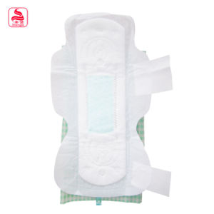 Hot Sale Strong Absorbent Disposable Woman Winged Shape Sanitary Pad pictures & photos