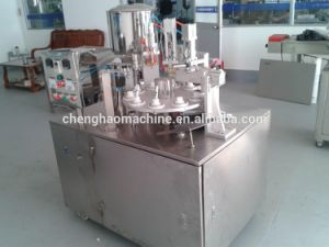 2016 High Efficiency Ho Brand, Automatic Cosmetic Tube Seal and Date and Batch Coding Function of The Filling Machine, Delivery System pictures & photos