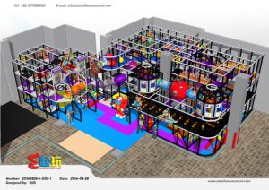 Professional Manufacturer Space Themed Indoor Playground Equipment pictures & photos