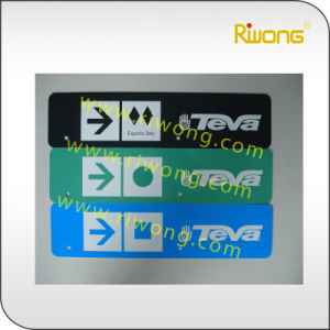 Sublimation Transfer Paper Blank Aluminum Number Plate pictures & photos