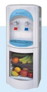 Water Dispenser with Transparent Refrigeratory pictures & photos