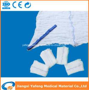 Natural Pharmacy Disposable Absorbent Lap Sponge pictures & photos