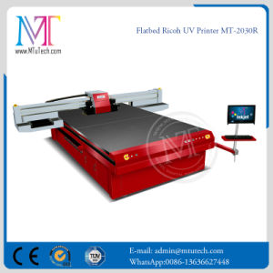 China Price 1440 Dpi Adhesive Vinyl Acrylic Flatbed Printer Mt-2030r pictures & photos