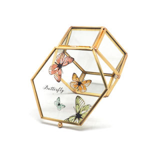 Wholesale Custom Handmade Glass Jewelry Packaging Storage Gift Box pictures & photos