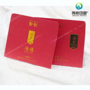 Gold Stamping Fancy Paper Printing Envelopes for Packaging pictures & photos