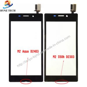 Cell Phone LCD Touch Screen for Sony M2 Aqua D2403 M2 S50h D2303 Glass Lens Digitizer Parts pictures & photos