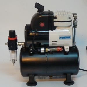 Af186k Airbrush Cool Runner PRO High Performance Compressor with Air Tank and Fan pictures & photos