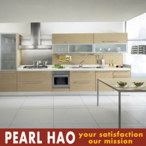 Customized MDF Melamine Wood Kitchen Cabinet pictures & photos