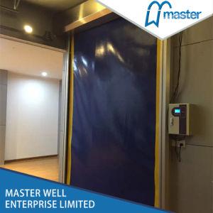 High Speed Self-Repair PVC Door pictures & photos