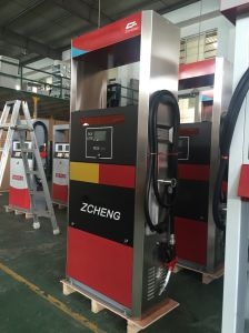 Zcheng Rainbow Series Filling Station Fuel Dispenser 1 Hose Nozzle Fuel Pump Gas Station LED Dispenser pictures & photos