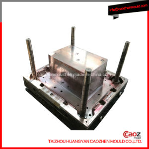 Plastic Injection Crate Mold Bottom with Wheels pictures & photos