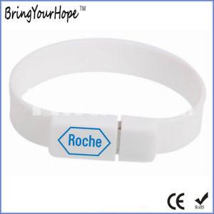 Wristband Custom Silicone USB Bracelet (XH-USB-031) pictures & photos