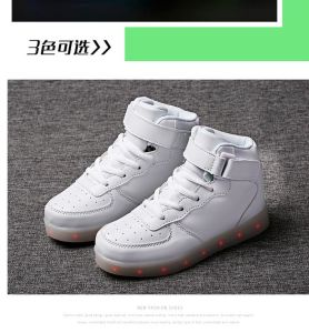 2017 Fashion Upper Men Bluetooth Sport LED Shoes with APP Controlled, Remote LED Shoes, Light up Shoes pictures & photos
