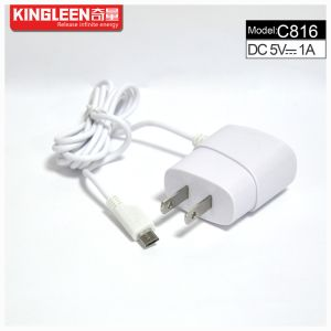 Kingleen C816 Mobile Travel Charger for Mirco, 1.2mwire, 5V1a, Intelligent Direct Charger Export to Europe pictures & photos