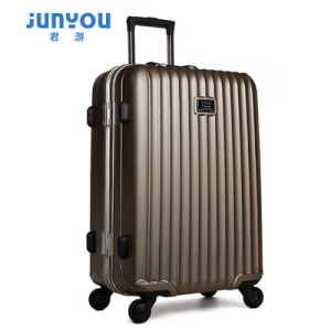 Professional Manufacturer ABS+PC 4 Wheels Suitcase Luggage pictures & photos