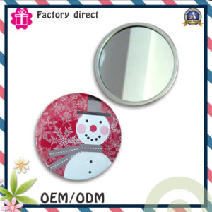 Customized Made Tin Plate Pocket Mirror pictures & photos