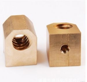 Hardware CNC Turning Machining Customized Machinery Nuts pictures & photos