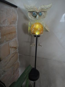 Popular Bird Owl Garden Decoration Solar Lamp (JN147) pictures & photos