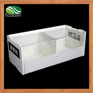 Double Room Acrylic Ecological Board Scorpion Reptile Terrarium Habitat for Crawler Tarantulas Chameleon Snails or Other Larval Reptiles Cage Only pictures & photos