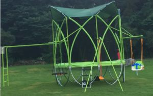 Multifunctional Garden Trampoline with Enclosure pictures & photos
