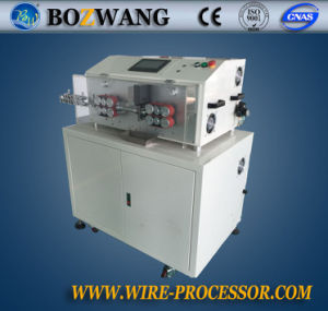 Boziwang Computerized Cutting and Stripping Machine with Working Table for Large Cable pictures & photos