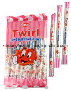 Marshmallow of Long and Twist Shape pictures & photos