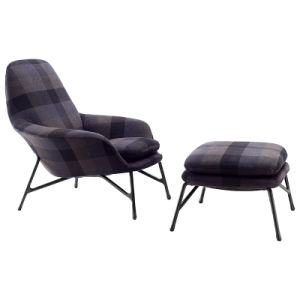 Living Room Lounge Chair Classical Style Fabric Arm Chair (KR06) pictures & photos