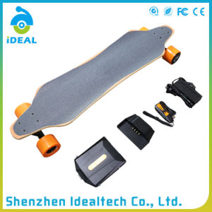Waterproof 2*1100W Motor Wheel Electric Stand Skateboard pictures & photos