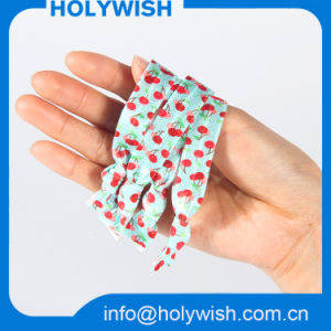 Wholesale Fabric Heat Transfer Printed Knotted Elastic Band for Hair pictures & photos