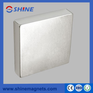 Strong Sintered NdFeB Block Magnet pictures & photos