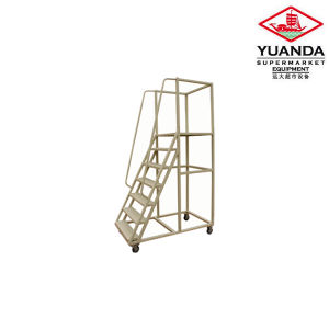 Ladder Truck for Warehouse with Good Quality pictures & photos