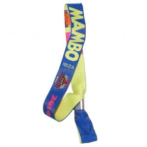 Custom Promotional Cheap Fabric Woven Wristband pictures & photos